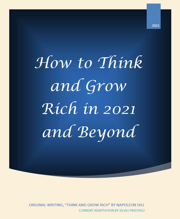 How to Think and Grow Rich in 2021 and Beyond